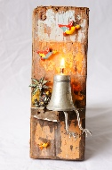 Carribbean style wall oil lamp